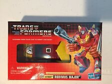 Transformers Commemorative Series 1 Rodimus Major Generation 1 NEW SEALED!!!
