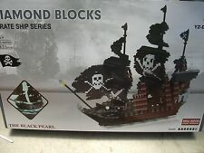 Pirate Ship   Diamond Building Blocks 3633 ps