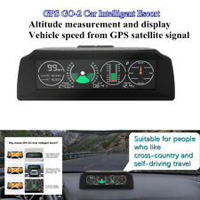 GPS GO2 Auto Car Electronics GPS Speedometer HD LCD HUD Display Speed Projector