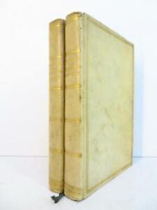 Beau STENDHAL Promenades dans Rome 1873 RELIURE VELIN Voyage Guide 1827 29