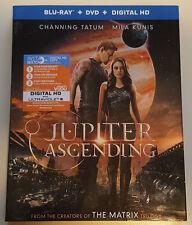 Unused Jupiter Ascending DVD + Digital Ultraviolet HD Stream, Case and Artwork
