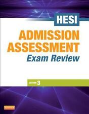 Admission Assessment Exam Review, 3e, HESI, New Book