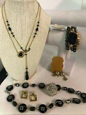 Jewelry Collection Lot # 228 Vintage Estate Black Trifari, Kingston Ny