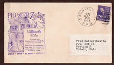 USA,  Pioneer Zephyr, Commemorative Cachet, Millionth Mile, Council Bluff, Cover
