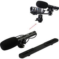 Stereo Mikrophone Mikrofon MIC Microphone Blitzneiger für Kamera Video Camcorder