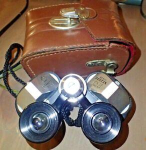 Asahi Pentax 6 x 25 Compact Wide Angle Binoculars in Case