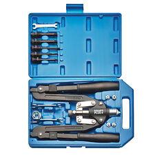 KRAFTPLUS® K.105-2401 Kit de riveteuse pince à riveter poignées pliables 14 pcs