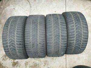 4x 245/40 R18 97V Pirelli Winter Sottozero3 - 4,5mm + 3,7mm  Restprofil