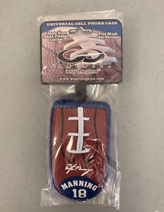 Peyton Manning Indianapolis Colts Vintage Football Leather Cell Phone Case NEW