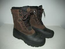 Herman Survivors Mens Size 8 Brown Leather Waterproof Thinsulate Insulated Boots