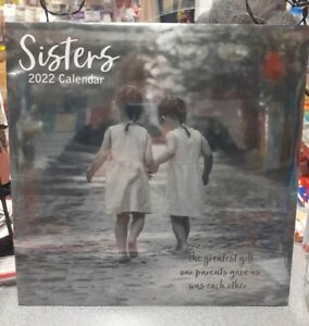 Sisters 2022 Square Wall Calendar New Free Postage