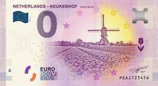 Billet 0 Euro - Netherlands, Keukenhof Tulip Fields  - 2019-1