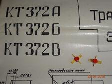 KT972A, HF-Transistor,   2,4Ghz / 15V / 0,05W , 2 Stück SU
