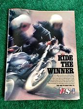 1972 Bsa Motorcycle Magazine Ad Brochure Lightning 650 Rocket-3 Iii A75 750 B50