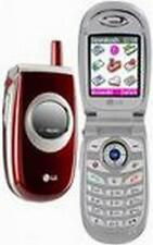 RETRO RED LG C1200 FLIP MOBILE PHONE - UNLOCKED WITH NEW CHARGAR AND WARRANTY
