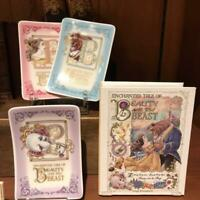 Tokyo Disney Land Limited edition Beauty and the Beast Plate set Bell Mrs. potts