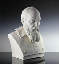 Galileo Galilei Stuck Bozzetto 1880 Astronom Büste Italien lebensgroß Entwurf