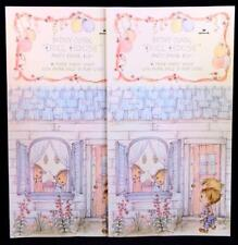 Two (2) Hallmark Betsey Clark's Doll House Party Favors. Paper Party House. Usa