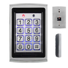 Metal Case Rfid /Em Card Reader with Keypad Access Control Controller 5 Cards