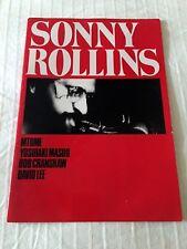 Sonny Rollins 1973 Japan Concert Tour Program Book Bob Cranshaw David Lee