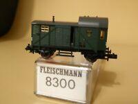 Fleischmann 8302 Spur N Güterzugbegleitwagen Pwg der DRG Epoche 2 unbespielt,OVP