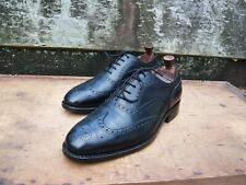 CHURCH BROGUES MEN'S SHOES – BLACK - UK 8 – CHETWYND – EXCELLENT CONDITION