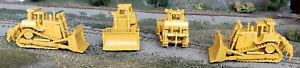 HO 1/87 scale Hi-Trak bulldozer w/ripper attachment