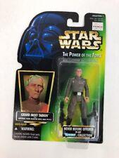 1996 STAR WARS POWER OF THE FORCE GRAND MOFF TARKIN HOLO GREEN CARD
