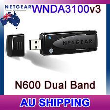 NETGEAR WNDA3100 v3 N600 RangeMax Dual Band Wireless N WiFi Adapter 802.11n