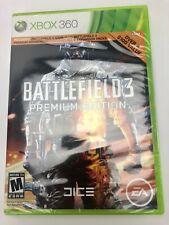 Battlefield 3 Premium Edition (Microsoft Xbox 360, 2012) New & Sealed