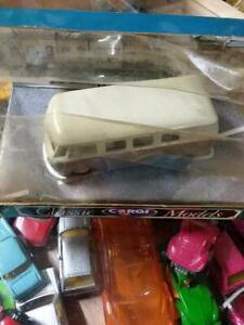 Matchbox CORGI CLASSIC MODELS BROWN AND WHITE VW BUS
