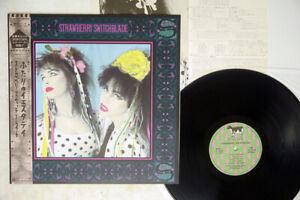 STRAWBERRY SWITCHBLADE SAME KOROVA P-13120 JAPAN OBI POSTER VINYL LP