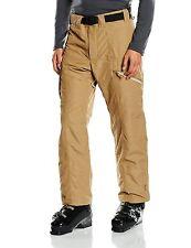 Eider Presten Men's Ski Pants Brown  Small W30 RRP £135 Snow Salopettes/Trou