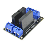 5V DC 2 Channel Solid-State Relay Board module High Level fuse for arduino