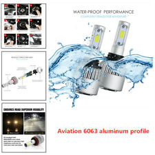 H11 135000LM Aluminum LED Headlight Kits Bulbs H9 H8 6000K VS HID 35W 55W Fog