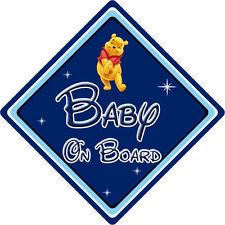 Disney Baby On Board Car Sign - Winnie The Pooh DB