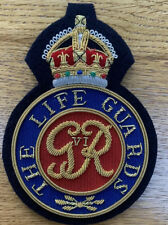 The Life Guards Bullion Wire Badge