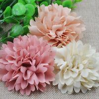 9pcs 75mm Big Ribbon Flowers Bows Rose Wedding Craft Decor Appliques MIX E173