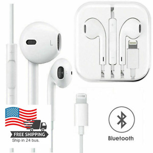 Wired Bluetooth Earphones Headphones For iPhone 6 7 8 Plus SE 11 Pro XR X XS Max
