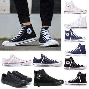 Converse Unisex Chuck Taylor Classic All Star Low High Canvas Turnschuhe Sneaker