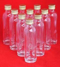 Glas-fläschchen 20/40/50 ml kleine miniatur schnaps-Flasche mini Likör Deckel