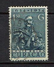 """CURAÇAO 1934 #119 xfu """"300 YEARS CURAÇAO"""" E240d"""