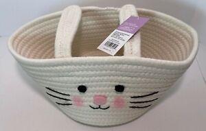 Easter Basket designed by Spritz Indoor Festive & Decorative Basket with Ears