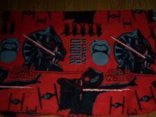 Star Wars Soft Red & Black Baby Boy Child Toddler 55x36 Fleece Blanket