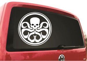 Hydra Logo Sticker Decal Marvel Shield