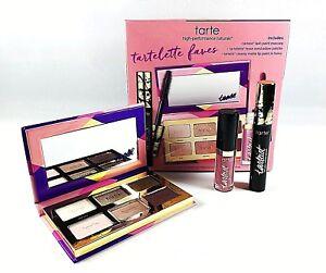 Tarte TARTELETTE FAVES Tarteist Lash & Lip Paint & TEASE 6 EyeShadow Compact NEW