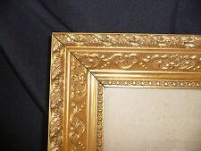 Cadre doré sous verre XIX XX Idéal pour gravure photo ... 60,5 x 50,5