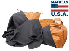 Dust Bag Cover Handbags & Purses Black 100% Cotton Drawstring (3 PC Set)