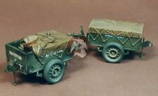 Resicast 1/35 Airborne Trailers with Tarps (2 pieces - 1 open & 1 closed) 351158