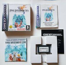 Final Fantasy Tactics Advance | Gameboy Advance | Excellent Condition! | Boxed